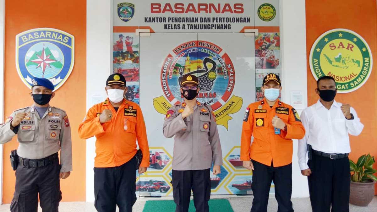 Basarnas dan Polair Polres Tanjungpinang Pererat Kerja Sama 12