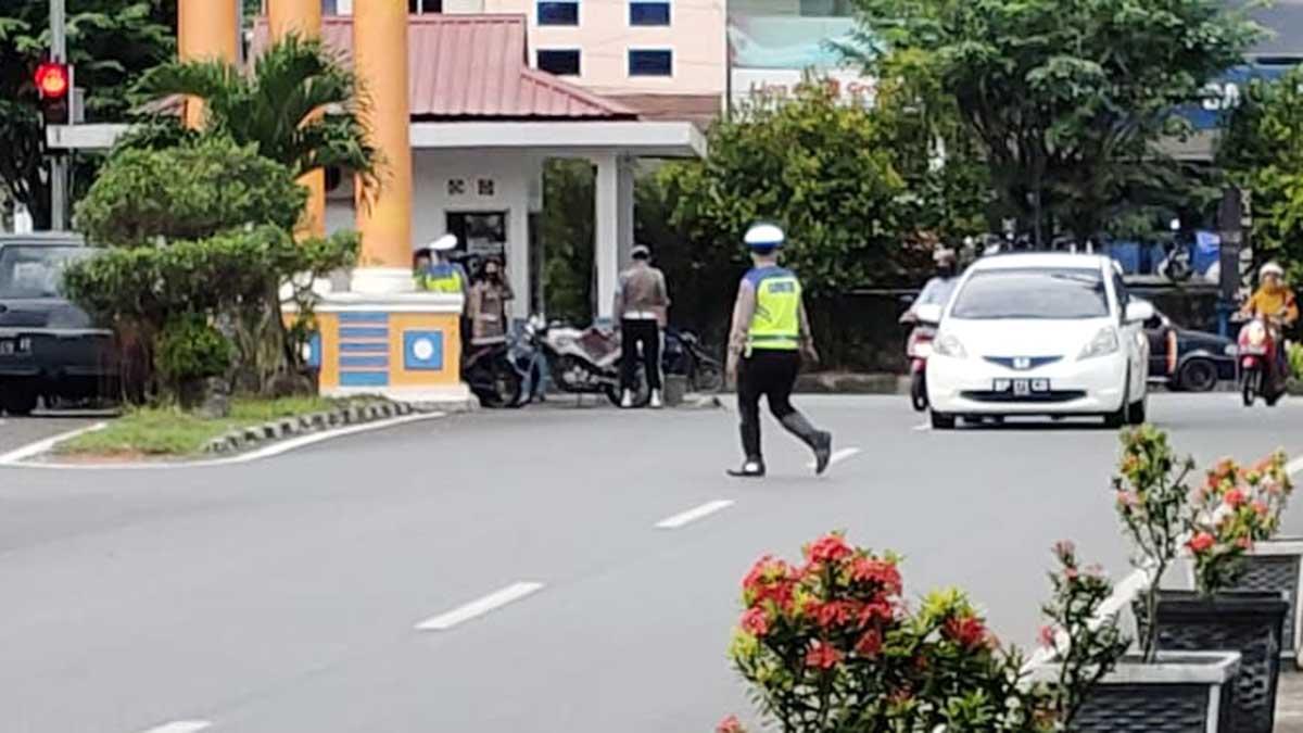 Operasi Patuh Seligi 2020 Tanjung Pinang, 32 Pengemudi Ditertibkan 1