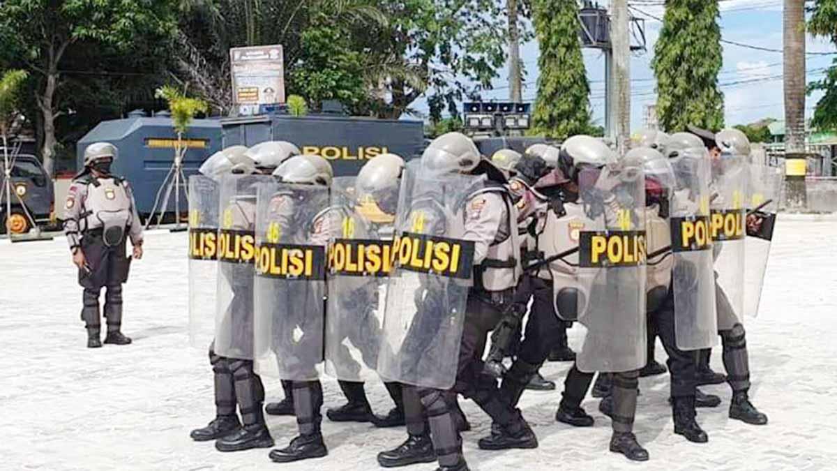 Polres Karimun Siap Amankan Pilkada Serentak 2020 5