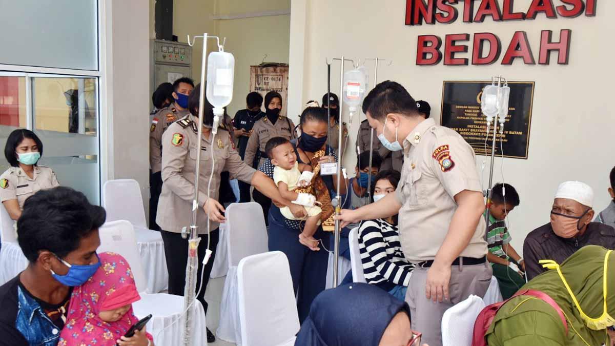 Rumah Sakit Bhayangkara Batam Gelar Operasi Pengobatan Bibir Sumbing 1