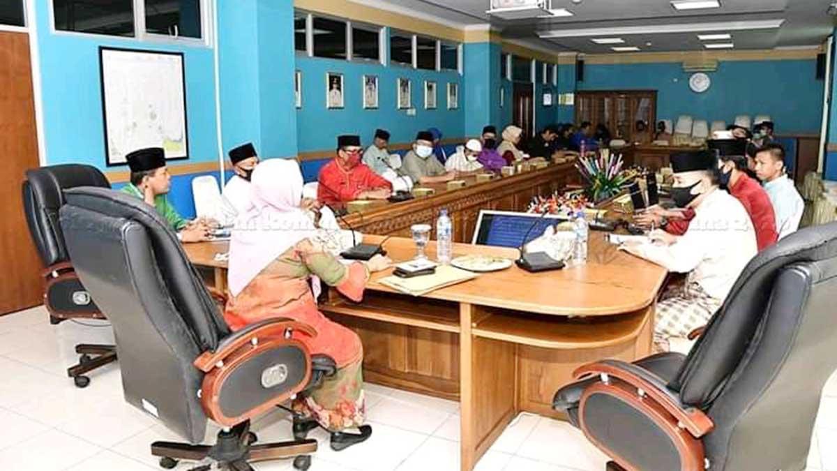 Wakil Bupati Natuna, Ngesti Yuni Suprapti, menghadiri Rapat Koordinasi FPK Kabupaten Natuna Tahun 2020
