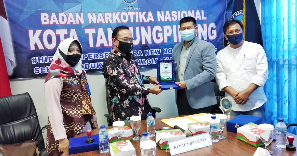 BNN Jalin Kerjasama P4GN Dengan Yayasan Hasan Yahya dan FKM 1