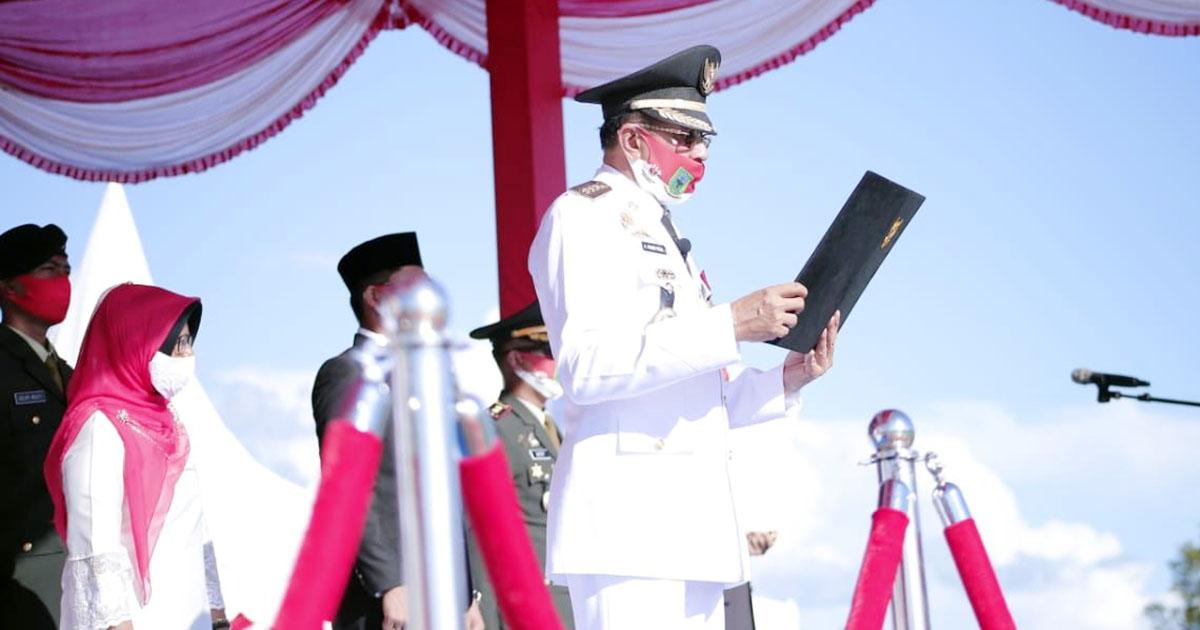 Hamid Rizal Jadi Irup HUT RI Ke 75 Kabupaten Natuna 1
