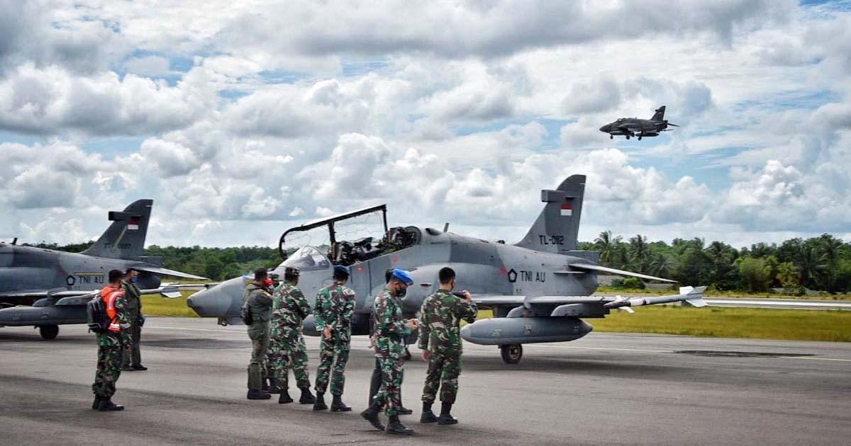 4 Pesawat Tempur Pantau Tanjung Pinang 1