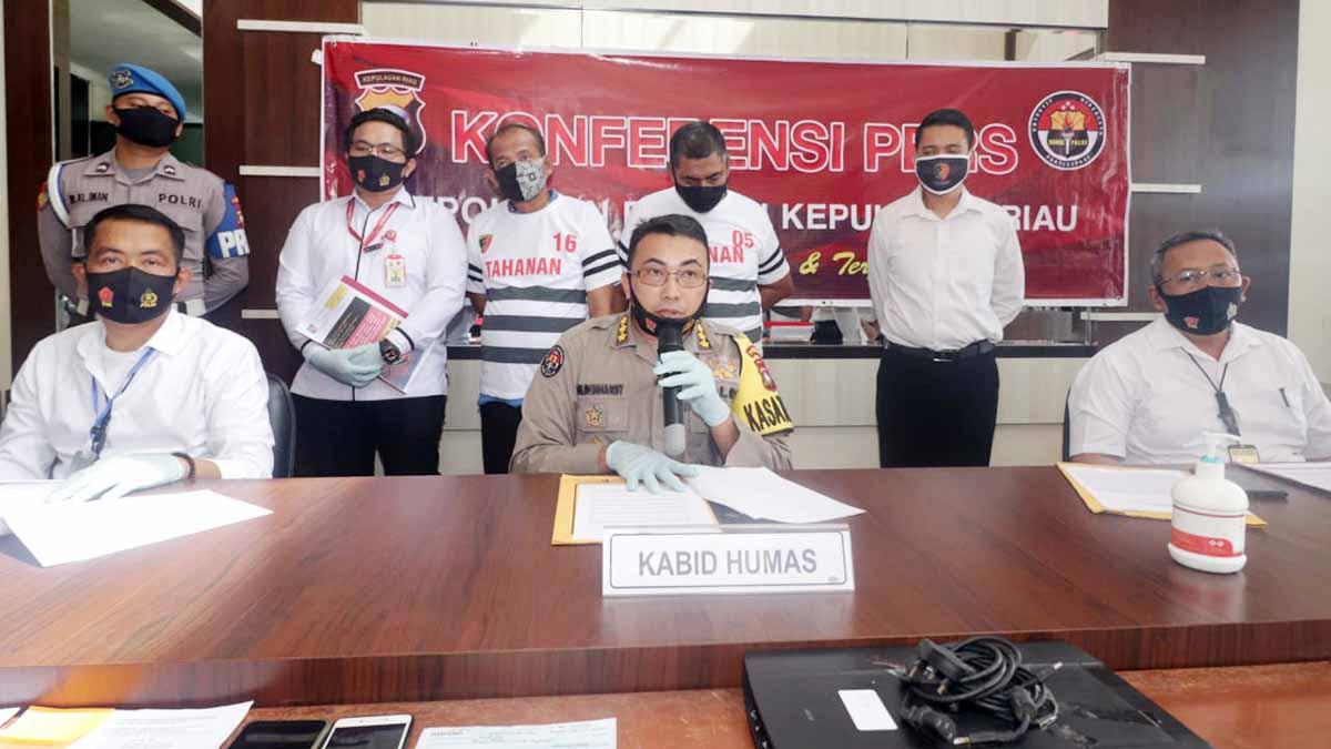 Tipu Pengusaha, Oknum Pegawai BP Batam dan Seorang Calo Ditangkap 11