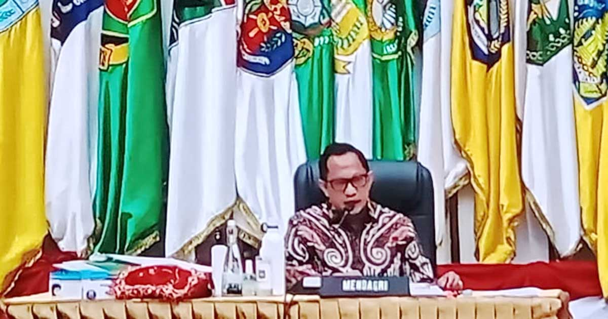 Mendagri Tito Karnavian Ingatkan Sekda Provinsi Kepri dan Inspektorat 2