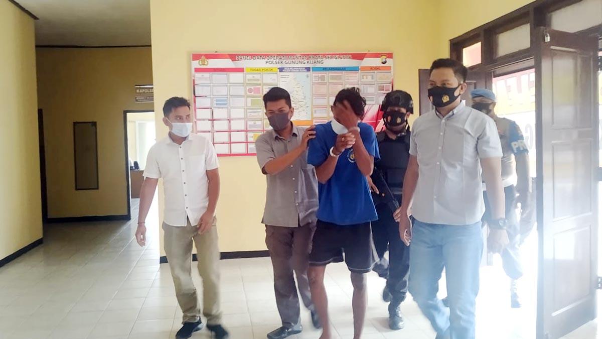 Curi 2 Sepeda Motor, Dua Pemuda Ini Ditangkap Reskrim Polsek Gunung Kijang 4