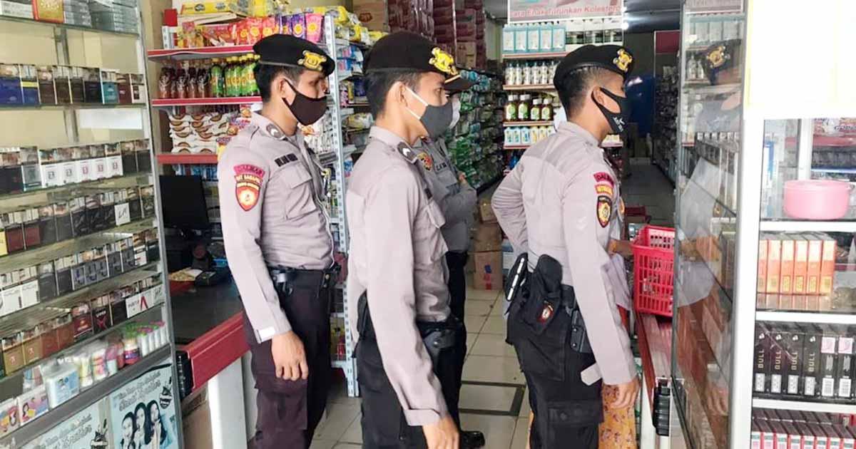 Patroli Diologis, Sat Sabhara Polres Natuna Gencar Berikan Imbauan Kepada Masyarakat 1