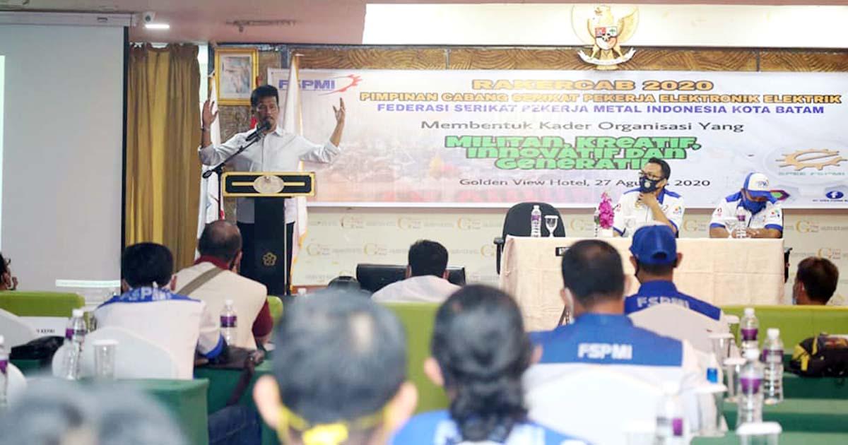 Wali Kota Batam Ajak Pengusaha dan Pekerja Pulihkan Ekonomi 1