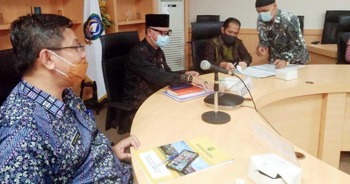 Asisten I Pemprov Kepri : Jadwal Pelantikan Wali Kota Tanjung Pinang Defenitif Berubah 16