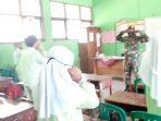 Babinsa Kelurahan Ranai Kota Komsos Bersama Guru dan Siswa SD Negeri 002 Ranai 7