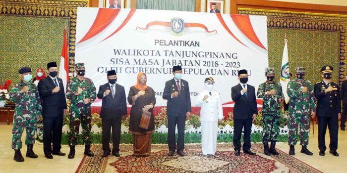Danlantamal IV Beri Selamat Pada Wali Kota Tanjung Pinang 19