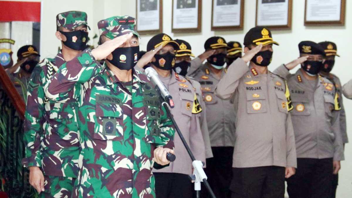 846 Personel TNI Ikut Amankan Pilkada Serentak di Provinsi Kepri 1