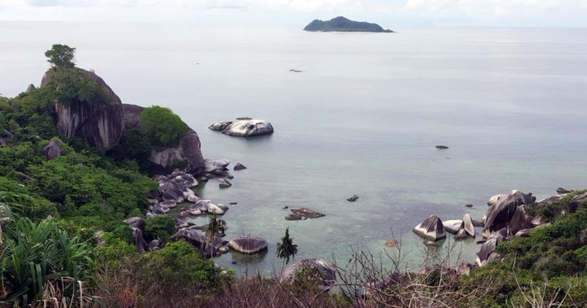 Geopark Natuna Tidak Kalah Dari Kaldera Toba, Batunya Bersih Lautnya Jernih 3
