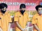 Ditresnarkoba Polda Kepri Ringkus 3 Pengedar Narkotika, 1,366,62 Kilo Daun Ganja Diamankan 2