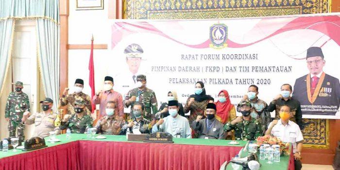 Pemprov Kepri Gelar Rakor FKPD dan Pemantau Pilkada 14