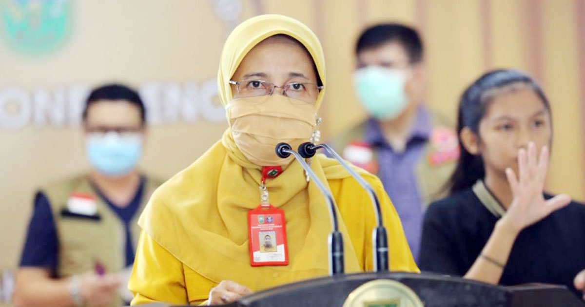 Jumlah Warga Terjangkit Positif Covid-19 Riau Capai 3.909, Meninggal 74 Orang 32