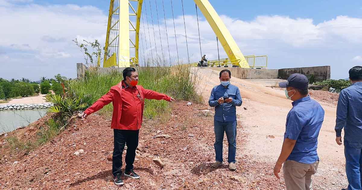 Komisi 3 DPRD Kepri Tinjau Proyek Pembangunan di Karimun 7