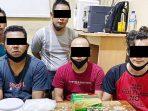 Kembali, 5 Pengedar Narkotika Dibekuk Ditresnarkoba Polda Kepri 5