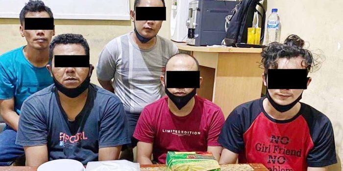 Kembali, 5 Pengedar Narkotika Dibekuk Ditresnarkoba Polda Kepri 11