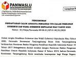 Panwaslu Kecamatan Tanjungpinang Barat Rekrut Tenaga Pengawas TPS 10