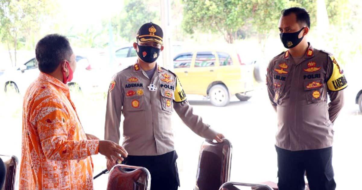 Pendaftaran Bakal Calon Kepala Daerah Karimun Dijaga Personel Polres 2