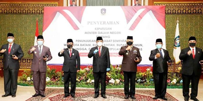 5 Pejabat Pemprov Kepri Diangkat Jadi Kepala Daerah 16