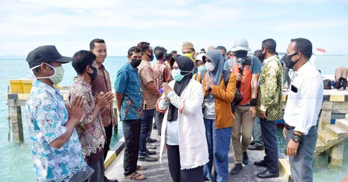 Lakukan Kunker, Ngesti Yuni Janji Pemekaran Pulau Panjang dan Seluan Paling Lambat Mei 2021 1