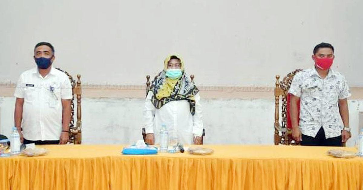 Wakil Bupati Natuna, Ngesti Yuni Suprapti, melakukan Kunjungan Kerja ke Desa Pulau Panjang, Desa Kerdau dan Desa Subi Kecil, Kecamatan Subi