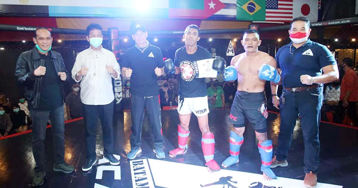 Batam Siapkan Atlit Kickboxing Untuk PON Ke 20 Papua 1