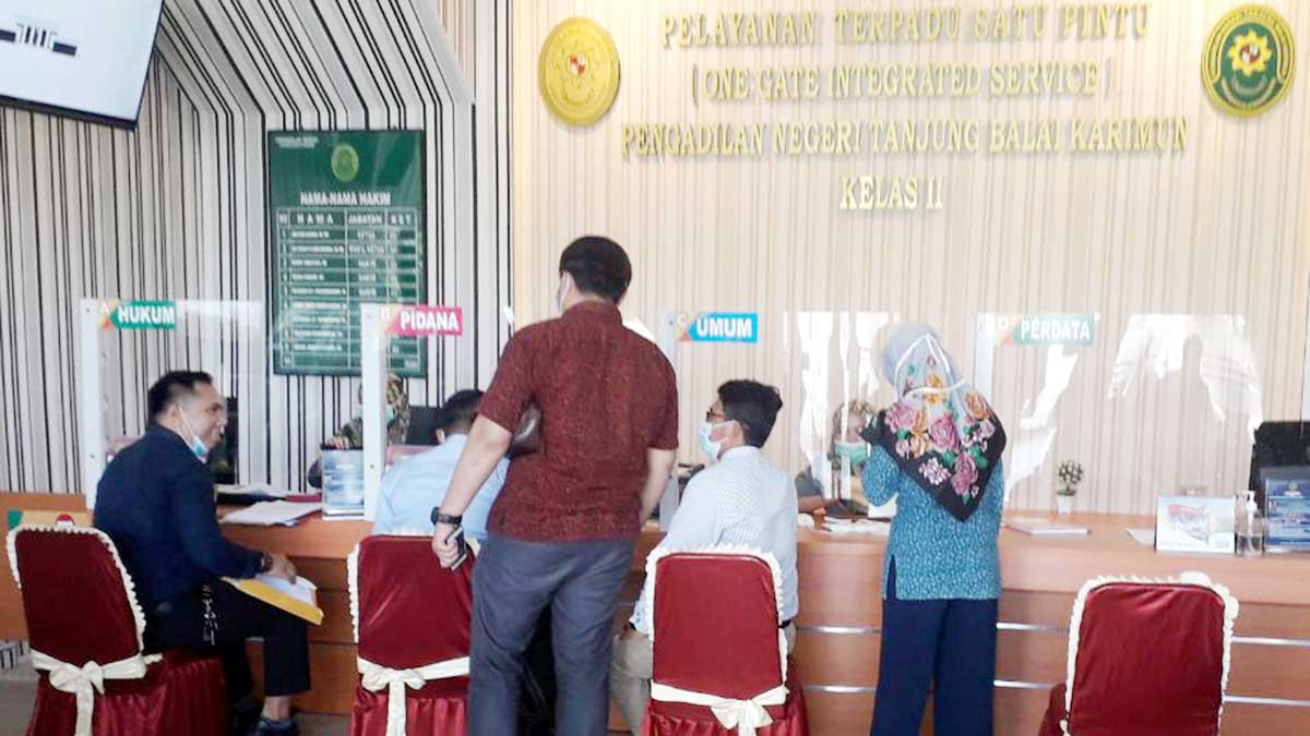 Berkas Gugatan Pra Pradilan Kasus Penipuan Diterima Pengadilan Negeri Karimun 1