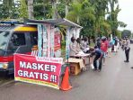 Polres Tanjung Pinang Buka Gerai Masker Gratis Bagi Masyarakat 11