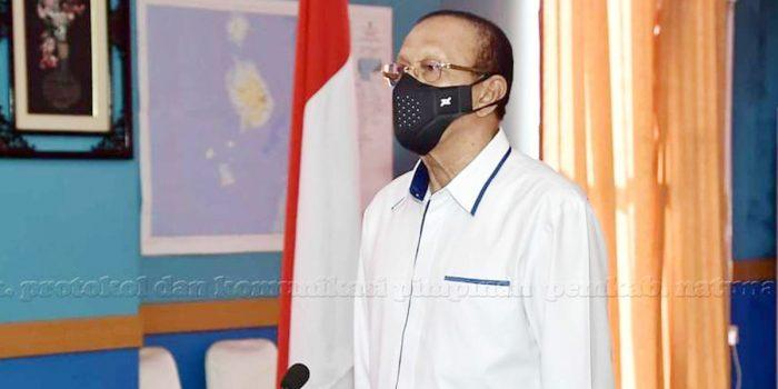 Bupati Natuna Hadiri Vidcon Peringatan Hari Kesaktian Pancasila Bersama Presiden Jokowi 2