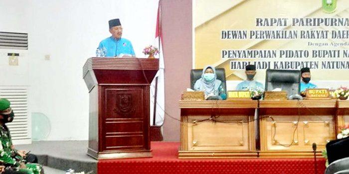 Hari Jadi Kabupaten Natuna Ke 21, Ketua DPRD Natuna Berharap DPRD dan Pemda Lebih Bersinergi 2