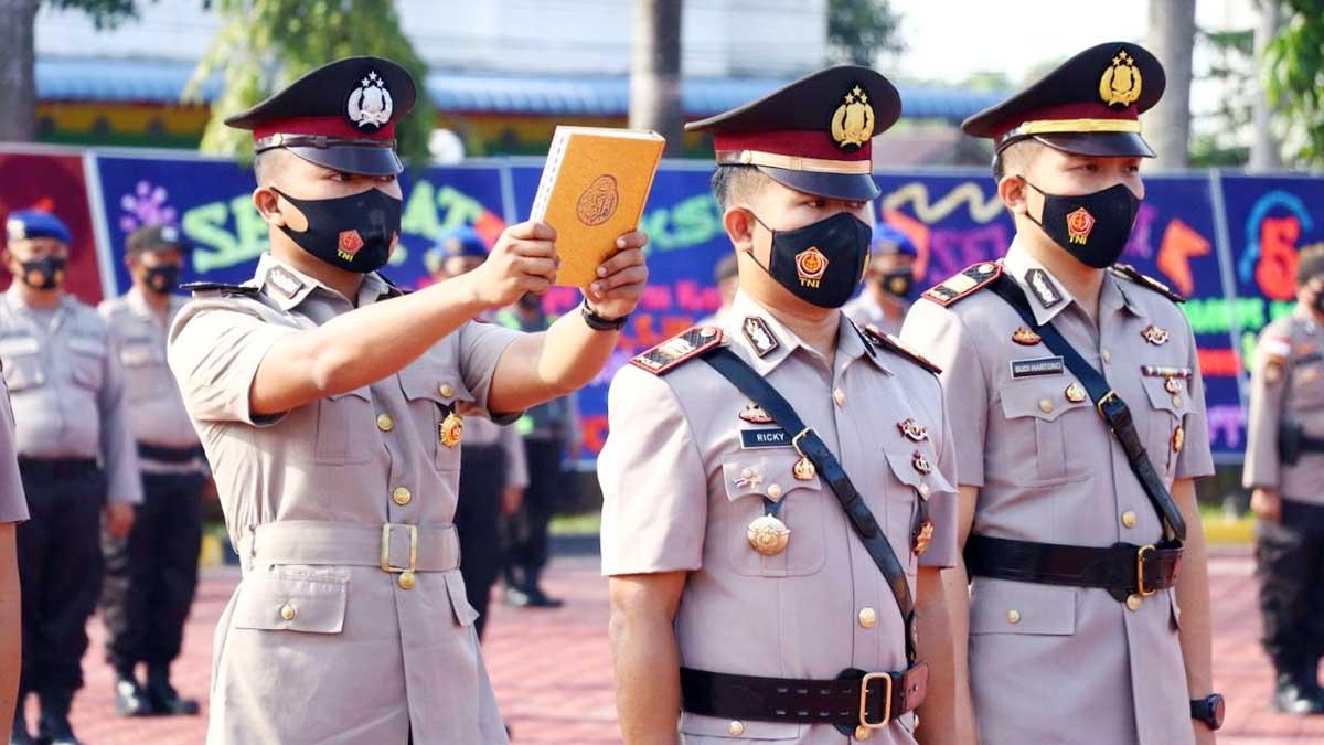 3 Pejabat Utama Polres Karimun Berganti 1