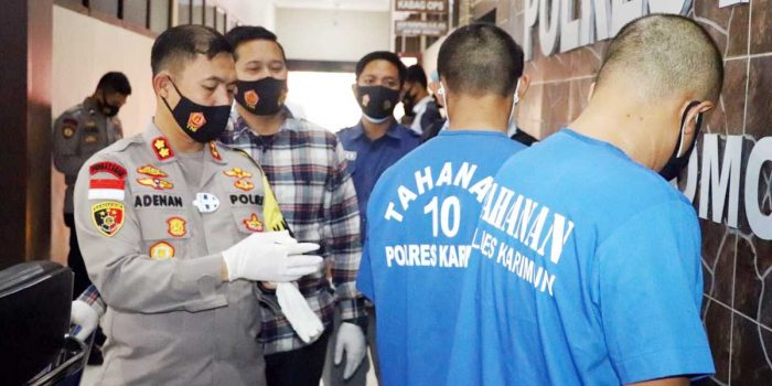 2 Kurir Narkoba Ditangkap, Bandarnya Masih DPO 13