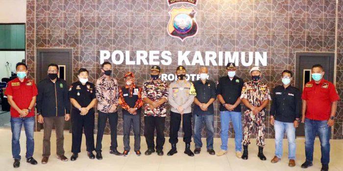 8 Ormas di Karimun Deklarasi Indonesia Cinta Damai Tolak Anarkisme 92