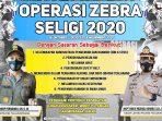 Mulai Senin, Razia Operasi Zebra Seligi 2020 Satlantas Polres Tanjungpinang Dilaksanakan 4