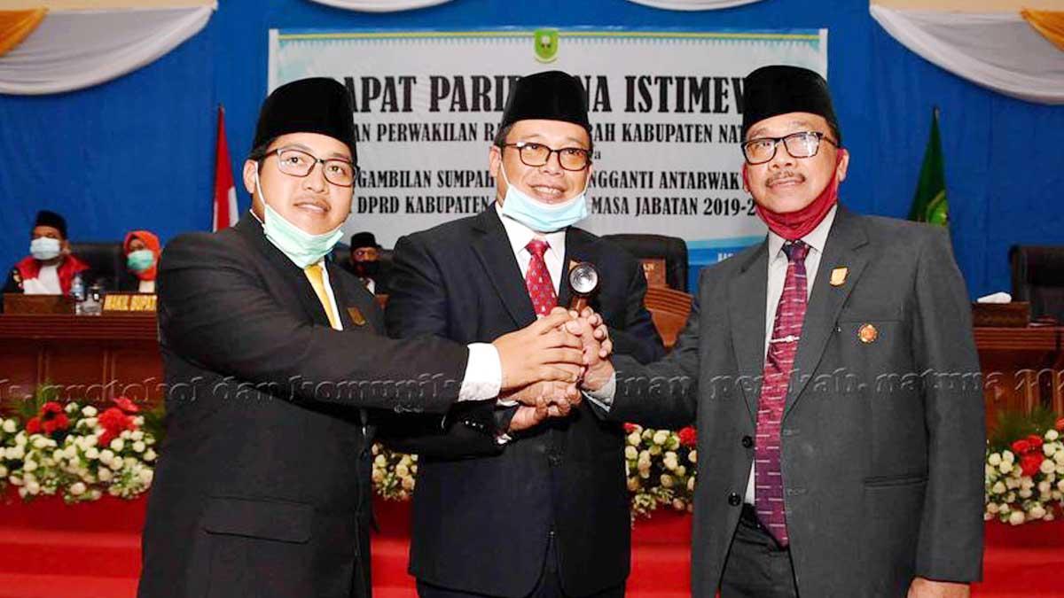 Daeng Amhar Resmi Jabat Ketua DPRD Kabupaten Natuna 1