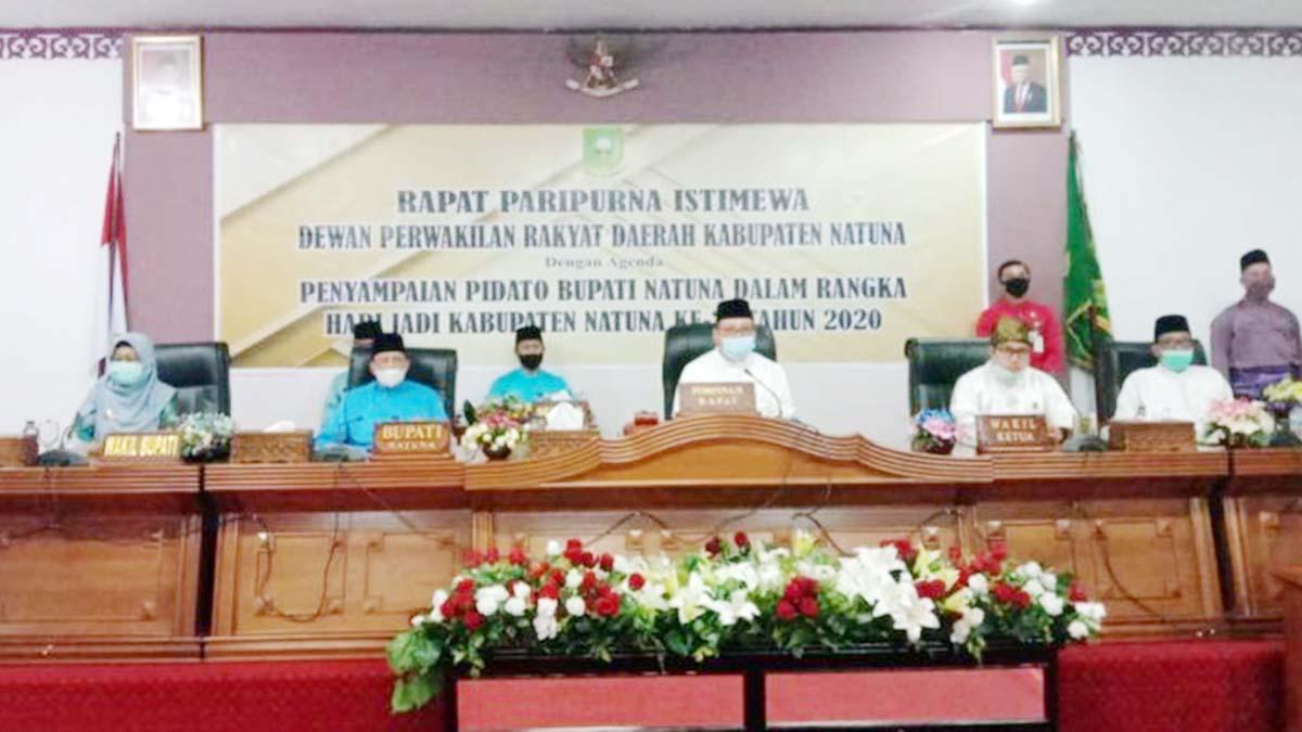 Hari Jadi Kabupaten Natuna Ke 21, Ketua DPRD Natuna Berharap DPRD dan Pemda Lebih Bersinergi 1