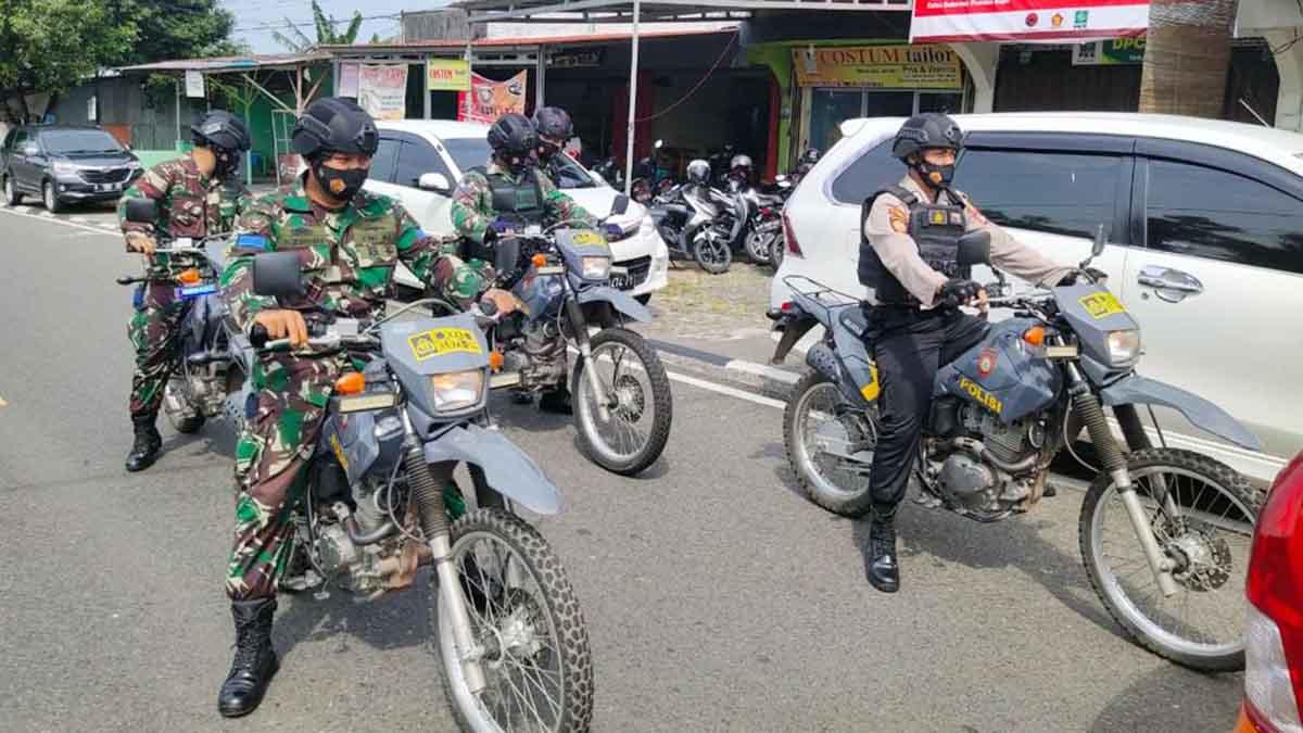 Polres Tanjung Pinang dan TNI Mulai Patroli Skala Besar 1