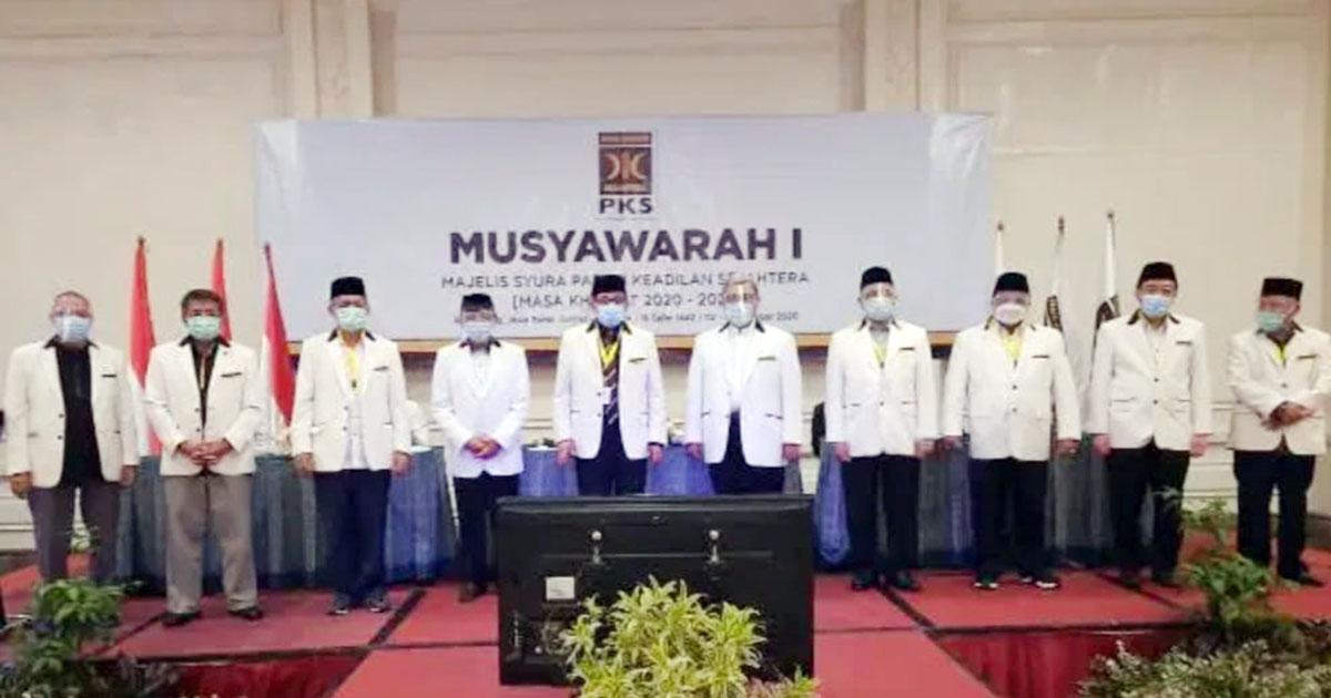 Habib Salim Segaf Aljufrie Ketua Majelis Syura, Ahmad Syaikhu Jabat Presiden PKS 1