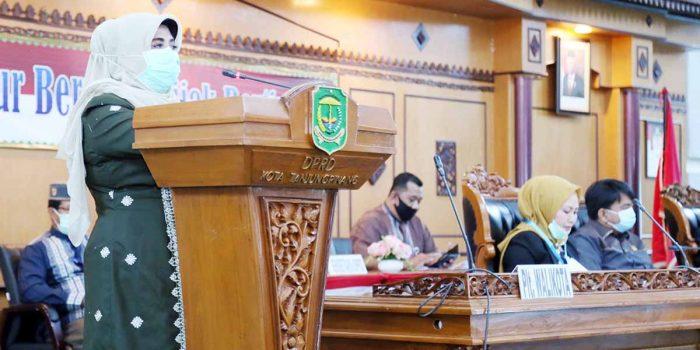 DPRD Tanjungpinang Gelar Paripurna Nota Pengantar LKPJ Wali Kota Tanjung Pinang Tahun 2019 2