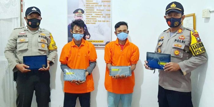SMAN 2 Kundur Dibobol, 5 Unit Ipad dan 1 Laptop Raib 53