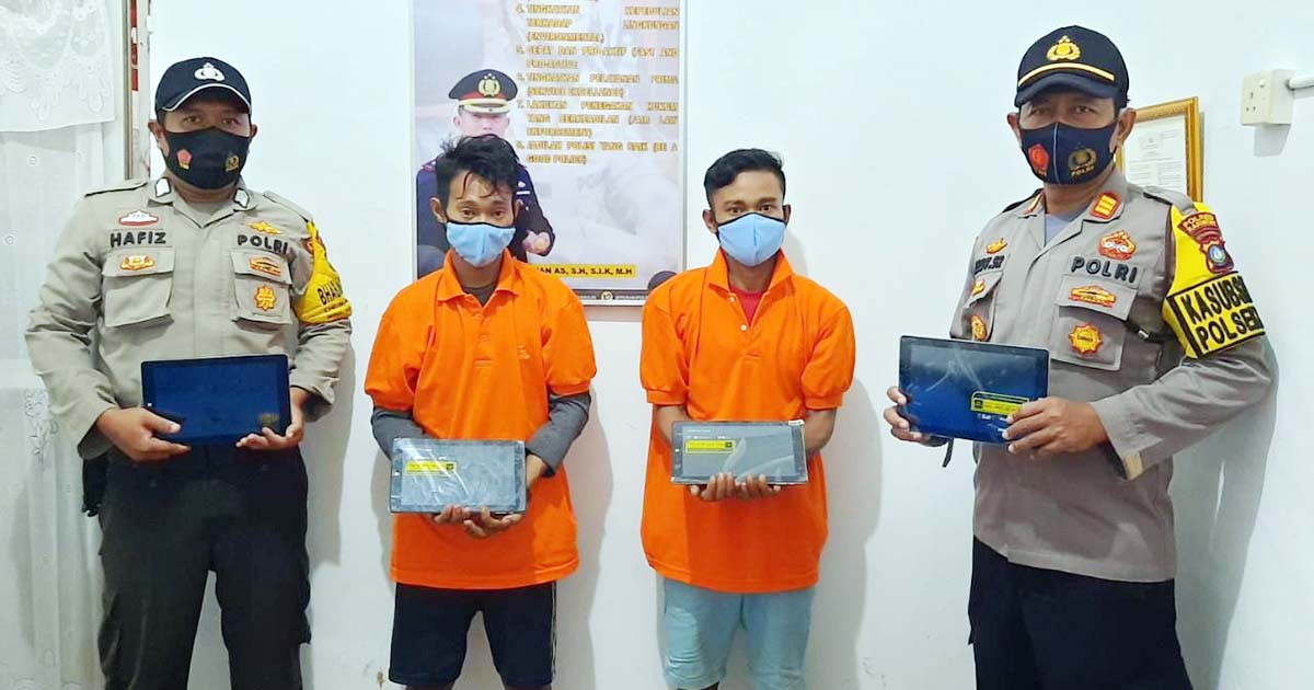 SMAN 2 Kundur Dibobol, 5 Unit Ipad dan 1 Laptop Raib 1