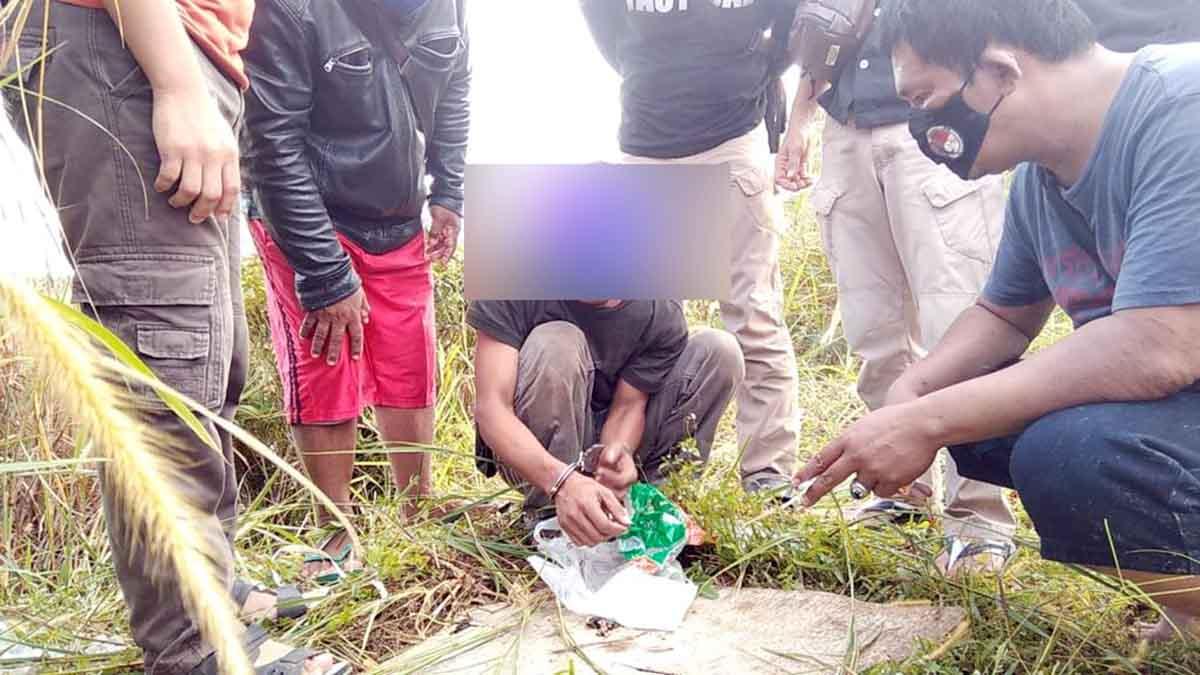 Aksi Kejar-Kejaran, Sat Narkoba Polres Tanjungpinang Ringkus Pelaku Narkoba 1