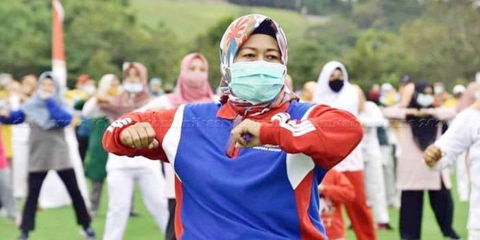 Hari Jadi Kabupaten Natuna Ke 21, Sukseskan Program Germas 98