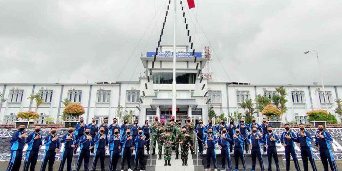32 Calon Bintara TNI AL Terbaik Kepri Diberangkatkan Ikuti Seleksi Tingkat Pusat 26