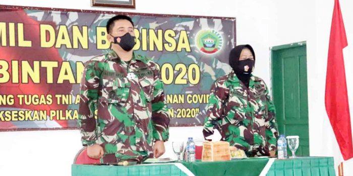 Danramil dan Babinsa Siap Dukung TNI AD Dalam Penanganan Covid-19 dan Sukseskan Pilkada Serentak 12