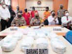 Sabu Seberat 8.3 Kg dan 20.000 Pil Ekstasi Disita Polda Kepri 8